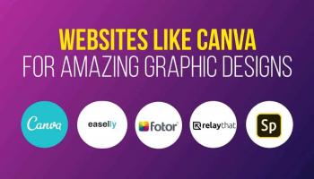 Nejlepší 19 webových stránek podobných jako Canva pro rychlé a jednoduché grafické návrhy